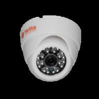 Купольная камера AHD VC-2203 1MPx 25fps (М002, f=2,8, Белый,IR)