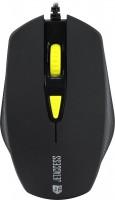 Мышь USB Jet.A <OM-U60 Black> 3btn+Roll / 400dpi-1600dpi
