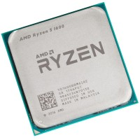 Процессор AMD Ryzen 5 1600 AM4 (YD1600BBM6IAE) 3.2 GHz / 6core / 3+16Mb / 65W Socket AM4 OEM