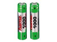 Аккумулятор AAA 1000 mAh уп.2шт. Hama <87055> NiMH