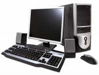 Системный блок GIPPO Intel i3-7100 / 4Gb / 500Gb / SVGA / DOS