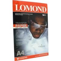Фотобумага A4, термотрансферная, 140 г / м2, 10 листов, LOMOND для светлых тканей