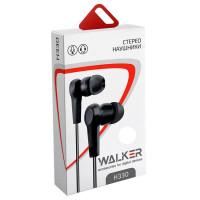 Мобильные наушники WALKER H330 (микрофон / кнопка ответа)