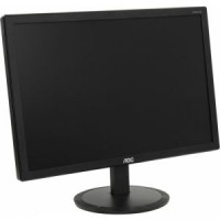 Монитор - 19.5 AOC I2080SW Black IPS (16:9,1440x900,6ms,250cd / m2,178° / 178°,VGA)