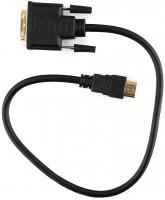 Кабель HDMI-M -> DVI-D-M 0.5м Gembird  /  Cablexpert