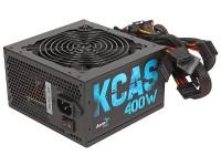 Блок питания 400W Aerocool <KCAS-400W> ATX (24+2x4+2x6 / 8пин)