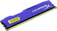 Память DDR3 8GB PC3-10600 Kingston HX313C9F / 8 FURY Blu Series CL9