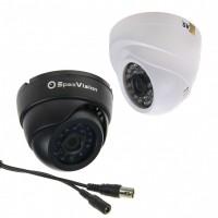 Муляж купольной антивандальной камеры с ИК подсветкой M-107G / WSVAR(Цвет: Белый, F=2.8-12)