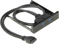 Front Panel Espada < EBrFr-2USB3 > USB3.0 2-port (крепление на лицевую панель корпуса 3.5)