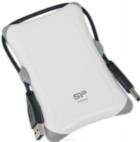 Внешний HDD 500Gb Silicon Power Armor A30 <SP500GBPHDA30S3W> White 2.5 USB3.0