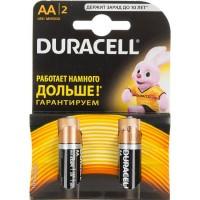 Элемент питания AA уп.2шт. Duracell Basic LR6-2BL (1.5V / Alkaline)
