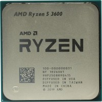 Процессор AMD Ryzen 5 3600 (100-000000031) 3.6 GHz / 6core / 3+32Mb / 65W Socket AM4 (OEM)