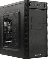 Корпус ATX 500W Crown CMC-403 black mATX (CM-500office) (24+2x4+6пин)