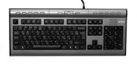 Клавиатура USB A4-Tech KLS-7MUU 104КЛ+17КЛ+USB порт