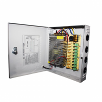 Блок питания 9-канальный 5А в металлическом корпусе PSU-205