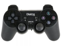 Геймпад беспроводной Dialog Action GP-A11RF PC / D-pad / 2xAnalog-pad / 11btn / Vibro