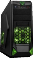 Корпус ATX без блока питания Accord <SA-01B> Black&Green