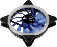 Вентилятор 120*120*25 Aerocool REV Blue 3пин / 1200об / 41 CFM / 15дБ