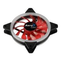 Вентилятор 120*120*25 Aerocool REV Red 3пин / 1200об / 41 CFM / 15дБ