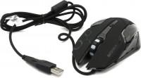 Мышь USB Jet.A <JA-GH31 Black> 4btn+Roll / 800dpi-2400dpi