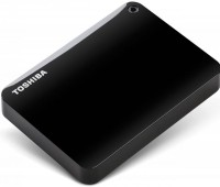 Внешний HDD 1Tb Toshiba Canvio Connect II <HDTC810EК3AA> черный 2.5 USB3.0