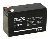 Аккумулятор ИБП АКБ-7 Delta DT 1207, 12В / 7Ач