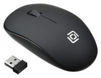 Мышь беспроводная USB OKLICK 515MW Black 3btn+Roll / 1200dpi