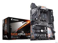 Материнская плата Gigabyte B450 AORUS ELITE Soc-AM4 AMD B450 4xDDR4 ATX AC97 8ch(7.1) GbLAN RAID+DV