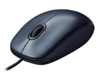 Мышь USB Logitech M100 Black 3btn+Roll / 1000dpi