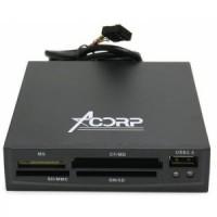 Встраиваемый картридер Acorp <CRIP200-B>