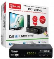 Цифровая приставка DVB-T2 D-COLOR DC1302HD (RCA / HDMI / USB)