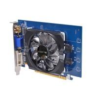 Видеокарта NVIDIA GeForce GT 730 2Gb Gigabyte <GV-N730D5-2Gi> GDDR5 64B D-Sub+DVI+HDMI (RTL)