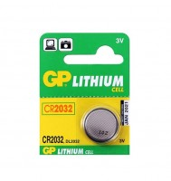 Элемент питания 2032 уп.1шт. GP Lithium<CR2032> (3V, Li-ion)