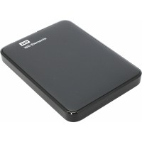 Внешний HDD 500Gb WD Elements <WDBUZG5000ABK-WESN> Black 2.5 USB3.0