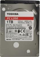 HDD 2.5 1 Tb Toshiba L200 <HDWL110UZSVA> 5400rpm 128Mb SATA-II