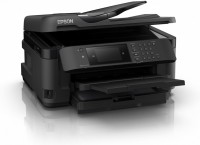 Принтер МФУ Epson WorkForce WF-7710+снпч  (A3 / 5760*1440dpi / 13стр / 4цв / струйный / WiFi / сетевой / факс)