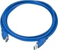 Кабель USB A -> A 3.0м NoName феррит.кольца (удлинительный)