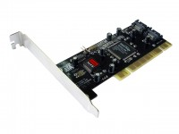 Контроллер PCI-E SATA 4-port+RAID bulk