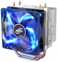 Вентилятор Deepcool GAMMAXX 300 FURY  / AM4 / 1150 / 1151 / 1155 /  4-pin 18-21dB Al+Cu 130W 435gr LED Ret