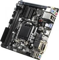 Материнская плата Gigabyte GA-H110N (RTL) LGA1151 <H110> PCI-E Dsub GbLAN SATA Mini-ITX 2DDR4