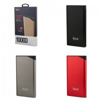 Внешний аккумулятор 10000 mAh ISA T3 (черный,красный)