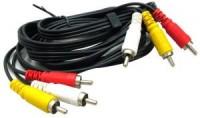 Кабель 3RCA-M -> 3RCA-M 1.5м Telecom <TAV7150-1.5M>