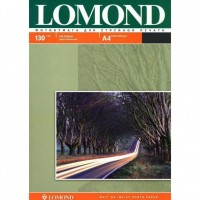 Фотобумага A4, матовая, 130 г / м2, 25 листов, LOMOND 0102039