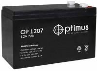 Аккумулятор ИБП Батарея Optimus OP 1207