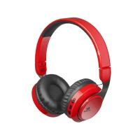 Полноразмерные Bluetooth наушники Redragon Sky Red (регулятор)