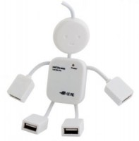 Концентратор USB2.0 PC Pet Human 4-port