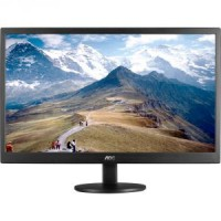 Монитор - 21.5 AOC E2270SWN / 01 Black (16:9,1920x1080,5ms,200cd / m2,90° / 65°,VGA)