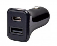 Автомобильное зарядное уст-во ISA TC01 (USB+TYPE-C / 3.1A)