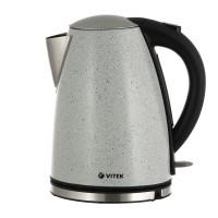 Чайник электрический VITEK VT-1144 GY / Максимальный объём 1.7 л / Фильтр от накипи синтетический