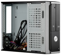 Корпус mini-ITX 400W Exegate <MI-205> Black&Silver (24+4пин)